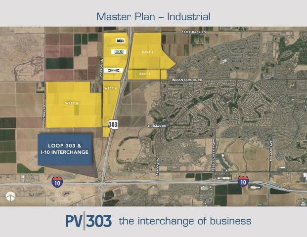 Master Planned Business Park Map - Industrial