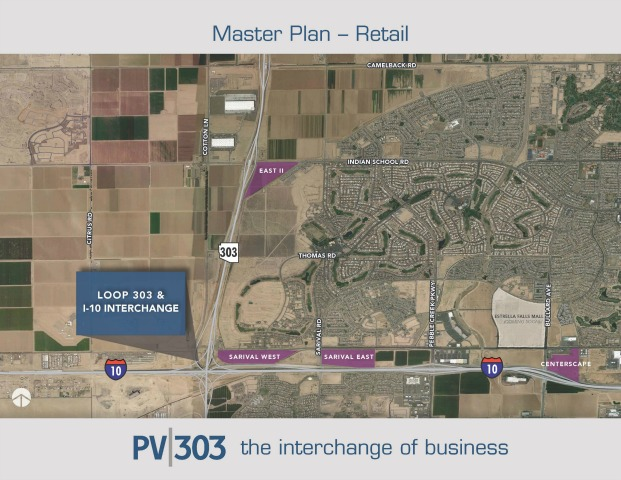 Master Planned Business Park Map - Retail