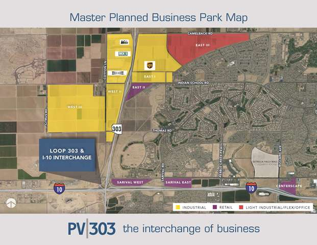 Master Planned Business Park Map